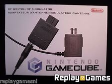 ★☆☆ Nintendo Gamecube - RF Switch - RF Modulator - New ☆☆★