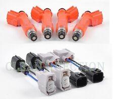 fit Nissan 180sx 240sx s13 s14 s15 SR20DET KA24DE Denso 850cc Fuel Injectors