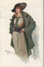 FRANZONI (28-2) donnina con cappello