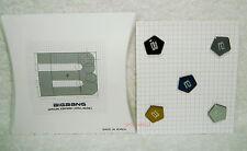 Big Bang 2012 Still Alive Official Goods Button Set (Bigbang) 5 Badge