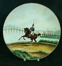 Imperial Russian Kornilov Brothers - Hand Painted Military Charger / Plate
