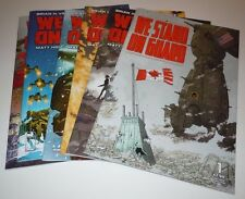We Stand On Guard 1 2 3 4 5 6 Comic LOT Image 1st 2nd Print COMPLETE SET BKV Run
