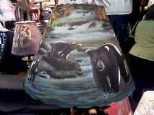 New Custom handmade 5x12x8.5 Cut Bear Lampshade Lamp Shade 100% recycled materia