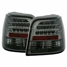 FEUX ARRIERE LED VW GOLF 4 3 5 PORTES 10/1997-9/2003 NOIR FUME SMOKE CRISTAL