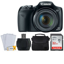 Canon PowerShot SX530 HS 16.0MP Digital Camera 50x Optical Zoom + 32GB Great Kit