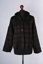 Oska Wool Checked Hooded Jacket Size S / 1