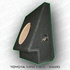 "Toyota MR2 10"" a medida INTEGRADO SUB ALTAVOZ CIERRE WOOFER detrás SEAT MK2"