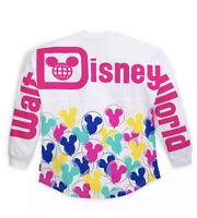 Disney Parks NWT M Walt Disney World Mickey Balloon Spirit Jersey 2020 Adult