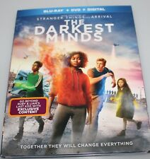 THE DARKEST MIND (BLU-RAY+ DVD + DIGITAL HD) W/SLIPCOVER NEW
