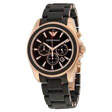 EMPORIO ARMANI Sportivo Chronograph Black Dial Men's Watch AR6066