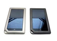 SET OF 2 Barnes & Noble Nook Color eReader Tablets Black / Grey UA2-1/16