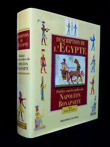 DESCRIPTION DE L'ÉGYPTE SOUS LES ORDRES DE NAPOLÉON BONAPARTE SYDNEY AUFRÈRE