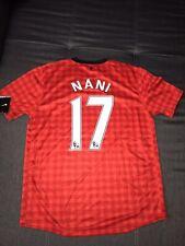 Manchester United Trikot Nani #17 signiert 2012/13 Neu + Rarität Nike signed