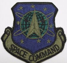 USAF Space Command Patch cut edge style subdued each P1591