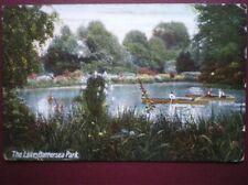 POSTCARD LONDON BATTERSEA PARK - THE LAKE
