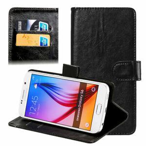 Universal Smart Cover für Gigaset GS160 schwarz Hülle Tasche Case