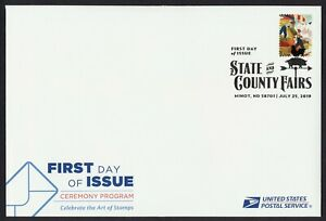 #5404a State & County Fairs, FDOI Ceremony Program w/ Invitation