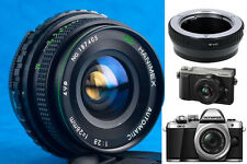 28mm f2.8 Micro µ4/3 MFT OM-D E-M10/M1 E-PL8PEN-F GX80/85/8/7 G7/8/85 GF5 G5 GX1