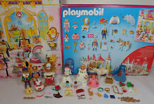 GEOBRA PLAYMOBIL # 4165 PRINCESS WEDDING CHRISTMAS ADVENT CALENDAR INCOMPLETE