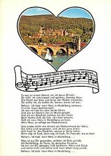 BG13113 music ship bateaux heart   heidelberg  germany