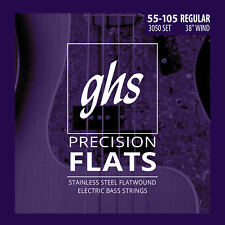 GHS 3050 Precision Flatwound Bass Guitar Strings
