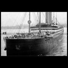 Photo B.003773 SS AMERIKA HAPAG HAMBURG AMERICA LINE SCHIFF PAQUEBOT OCEAN LINER