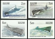 Russia Soviet and Russian Submarine Classes U Boat Imperforated Proofs ** 2005