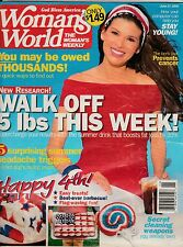 Woman's World Magazine Back Issue June 27, 2006 FREE SHIPPING