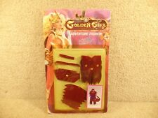 1984 Golden Girl & Guardians of the Gemstones Forest Fantasy Moth Lady Fashion