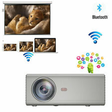 "MIni Projector WIFI Bluetooth Home Theater Projector Portable HDMI USB VGA 150"""