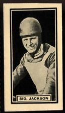 Trade Card, DC Thomson, Adventure, 1930 SPEEDWAY STARS,Sid Jackson,Leicester,#11