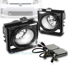 11-15 SCION XB BUMPER DRIVING CHROME CLEAR LENS FOG LIGHTS LAMPS W/8K HID+SWITCH
