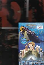 ATLANTIS THE LOST EMPIRE  VHS Video Walt Disney Animation (New & Sealed)