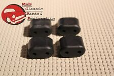 65-90 Impala/Full Size Chevy Rubber Door Bumpers Stoppers, set of 4