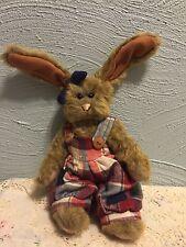 Rare 1995 Ganz Country Bunny Plush Reba Rabbit Cottage Collectibles #Cc515