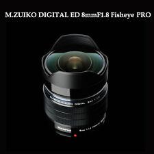 Olympus M.ZUIKO DIGITAL ED 8mm F1.8 Fisheye PRO Dust,Splash & Freeze-Proof