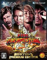 Fire Pro Wrestling World Wrestling PREMIUM EDITION PS4 F/S w/Tracking# Japan New
