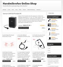 ★ PREMIUM HANDMIKROS.DE ONLINE SHOP Geschäftsverkauf ★ Webprojekt Einnahmen ★