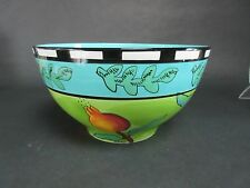 "SIGNATURE HOUSEWARES URSULA DODGE HARVEST LARGE 10"" x 5 3/4"""
