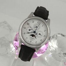 Mechanisch-(Handaufzug) Armbanduhren im Luxus-Stil aus Edelstahl mit Arabische Ziffern