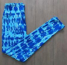 LuLaRoe OS Leggings BLUE TIE DYE *UNICORN* HTF New!