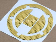 Gold Fuel Gas Cap Sticker Decal For Suzuki GSXR GSX-R 600 750 GSXR-1000 SV1000S