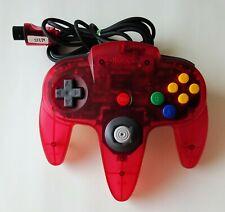 NINTENDO 64 CONTROLLER Clear Red [ N64 N215 ] Nintendo 64 Japan
