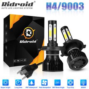2x H4 LED Headlight Bulbs Hi/Low Beam Xenon Light 120W 6500K Canbus Error Free