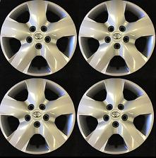 """16"""" Hubcap Wheelcover Wheel Cover Set fits 2006-2012 Toyota RAV 4 RAV4"""