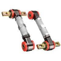 2Pcs Adjustable Racing Rear Suspension Camber Control Arm For Honda Civic Acura