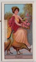 Apollo Ancient Roman Goddess Of Marriage And Childbirth  Mythology 1920s Ad Card