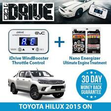 IDRIVE THROTTLE CONTROL FOR TOYOTA HILUX 2015 ON + NANO ENERGIZER AIO