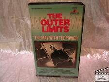 "Outer Limits - ""The Man With the Power"" (VHS, 1987) Large Case"