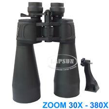 PowerView 30X-380X 70mm Coated Optic-Lens Military Zoom Binoculars Telescope US